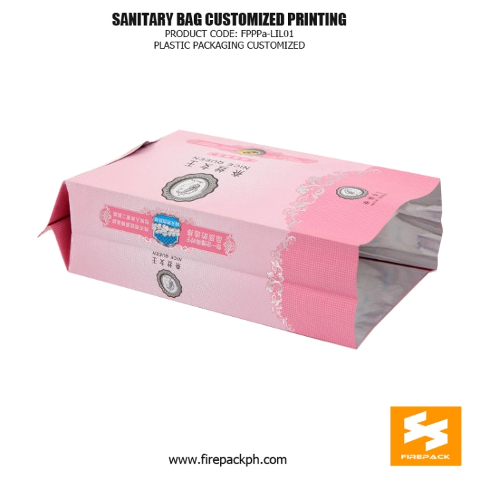 Plastic Ladies Sanitary Napkin Bags - Pouch With Open Label korea supplier