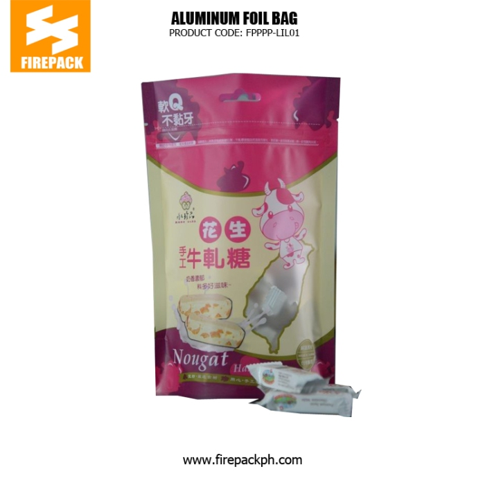 Plastic Packaging Snack Food Stand Up Pouch Bags Recycle Use firepack