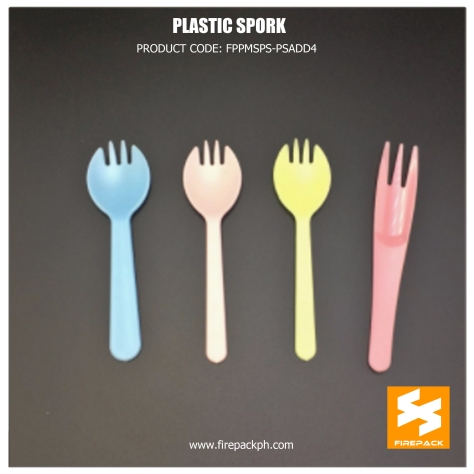 plastic spork customized with print supplier