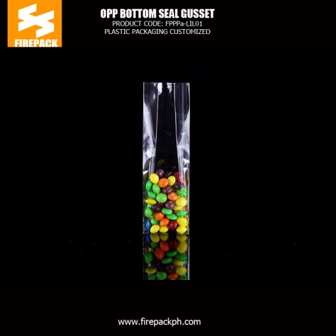 protein packaging clear opp food packaging pouch opp bag with custom printing firepack kuwait