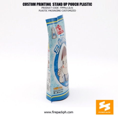 Recyclable PET PE Plastic Stand Up Pouches Bag For Candy supplier maker