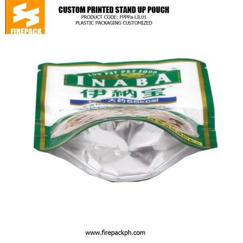 Recyclable Standing Pet Food Bags , Dog Food Packaging Bags firepack supplier