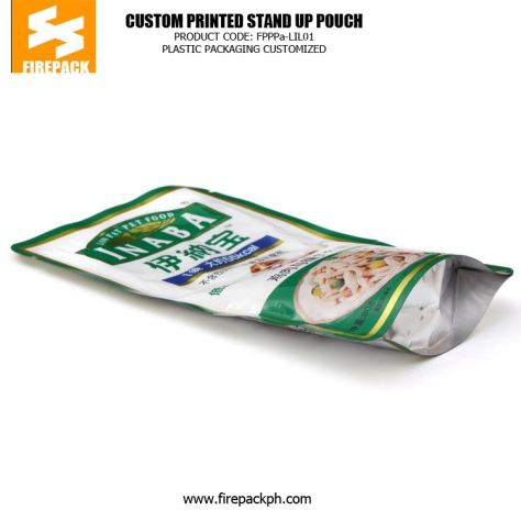 Recyclable Standing Pet Food Bags , Dog Food Packaging Bags manila plastic supplier
