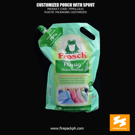 Resuable Laminated Material Spout Pouch Packaging Food Grade Moisure supplier cebu