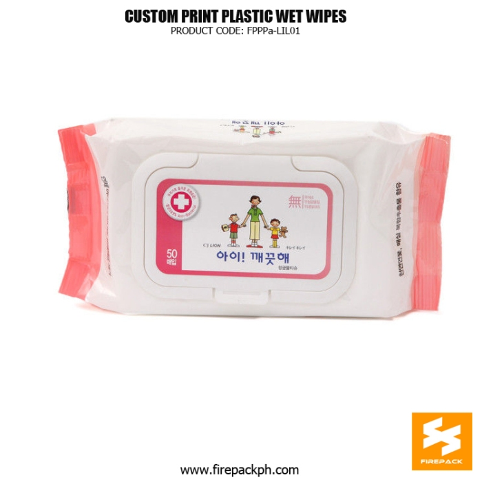Side Gusset Baby Wet Wipes Packaging With Removeable Labels supplier maker