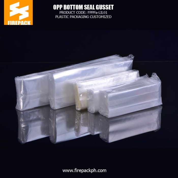 Side Gusset OPP Packaging Bags Recyclable Square Bottom For Chocolate canada plastic supplier