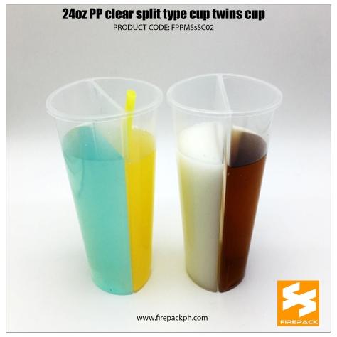 split cup supplier pp plastic