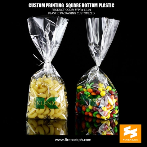 square bottom clear plastic supplier cebu