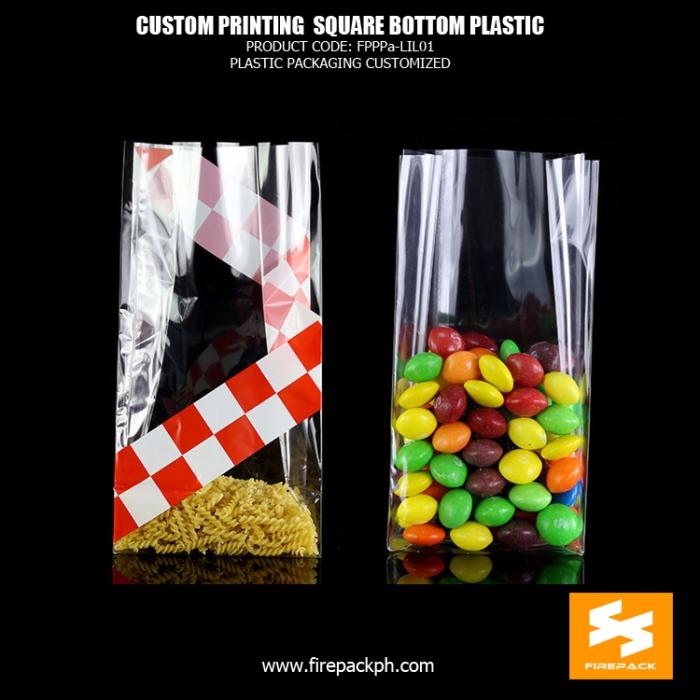 square bottom clear plastic supplier manila