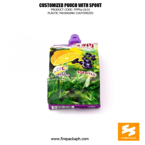 Stand Up Beverage Packing Pouches Gravure Printing With Spout canada supplier