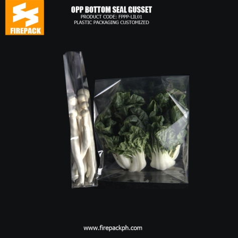 Transparent OPP Plastic Packaging Bags , Environmentally Friendly Material kuwait plastic supplier