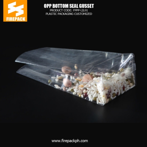 Transparent self adhesive clear bags with Heat Seal , small packaging bags bahrain supplier packaging
