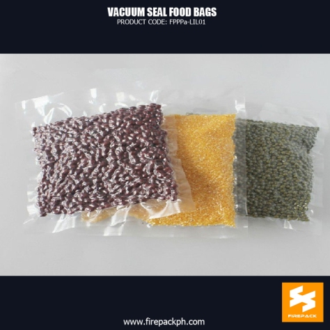 Vacuum Seal Food Bags For Packing Bean NY PE Customized With Heat Seal supplier maker