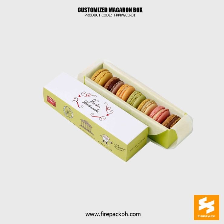 7 pcs macaron box maker supplier manila