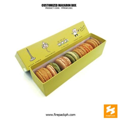 7 pcs macoron box design maker cebu manila supplier