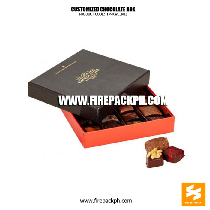 affordable chocolate box maker