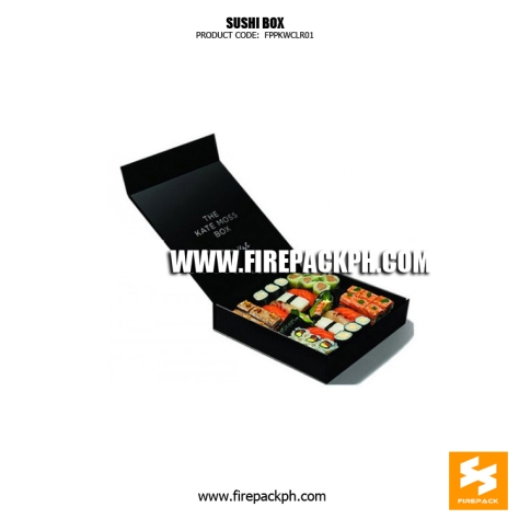black sushi box maker supplier manila
