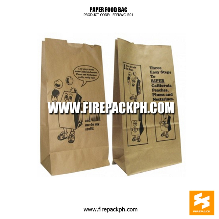 brown paper bag customized printing cebu