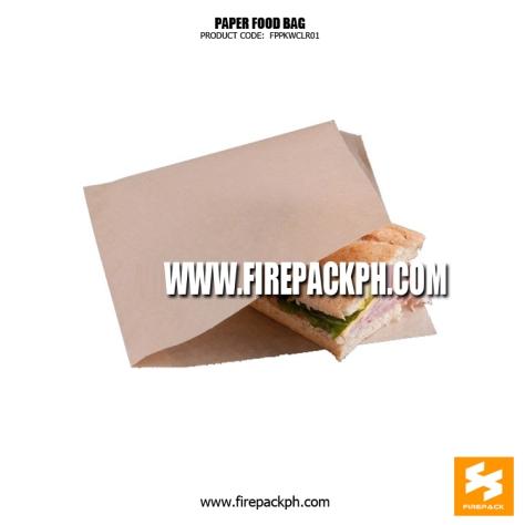 brown paper bag supplier manila firepack