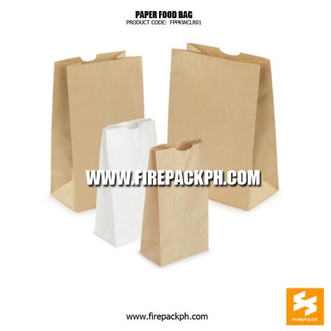 brown paper bag white paper bag supplier manila