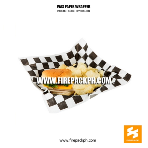 burger wrappe supplier cebu firepack