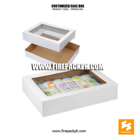 cake box bacolod supplier maker