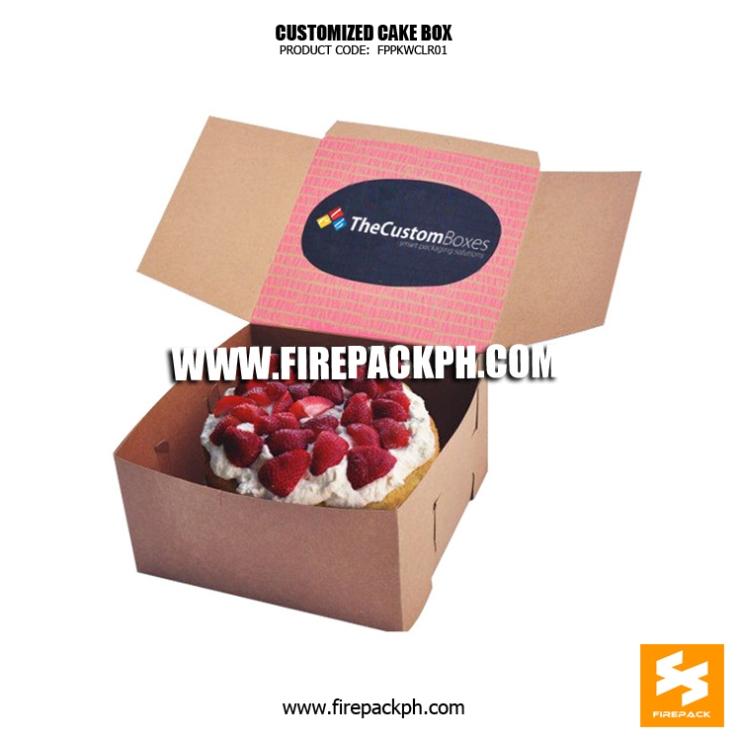 cake box custom print manila