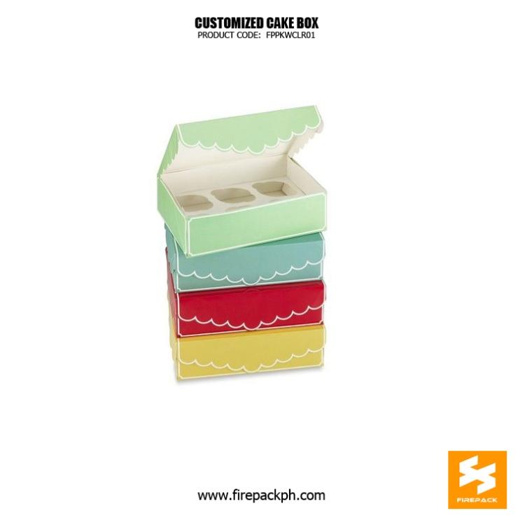cake box maker cebu supplier