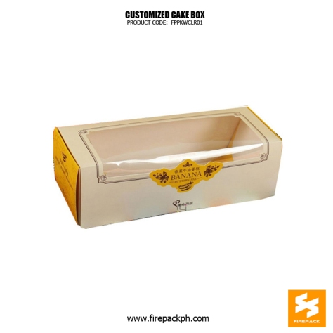 cake box maker customized manila supplier