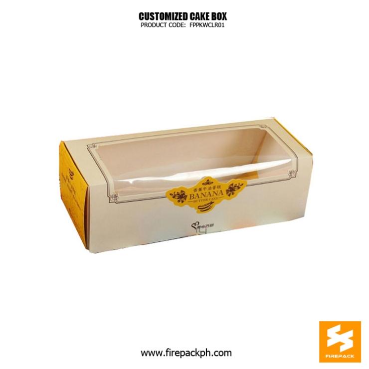 cake box maker customized manila supplier