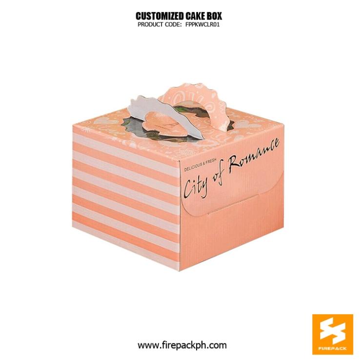 cake box nice design supplier manila