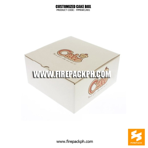 cake box supplier maker cebu manila firepack