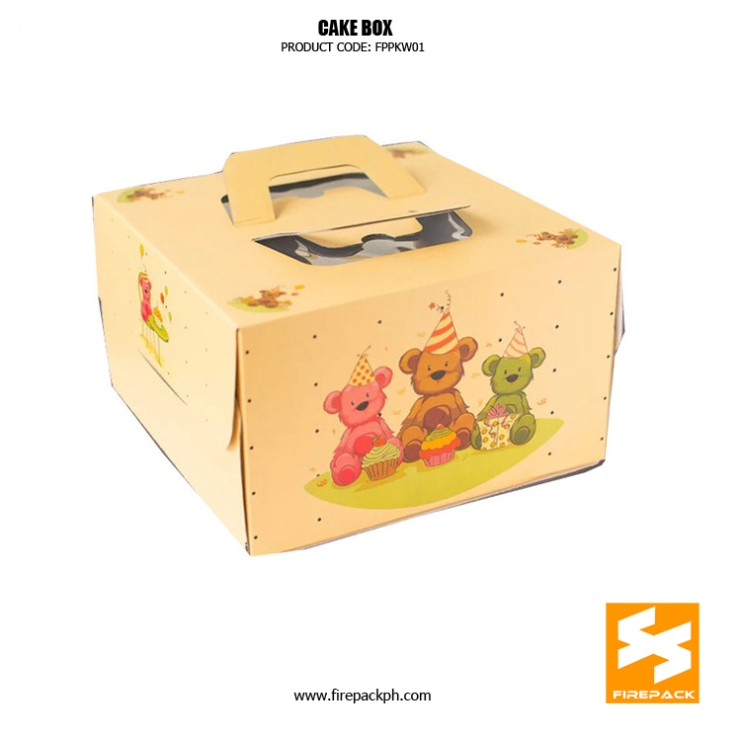 cake box supplier maker cebu philippines
