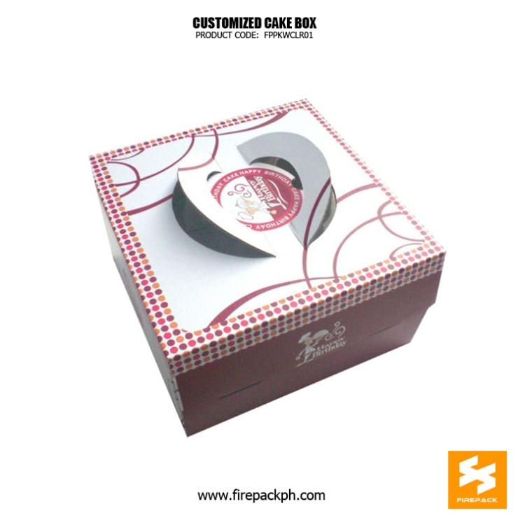 cake box supplier maker davao city