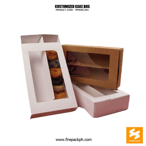 cake box supplier maker