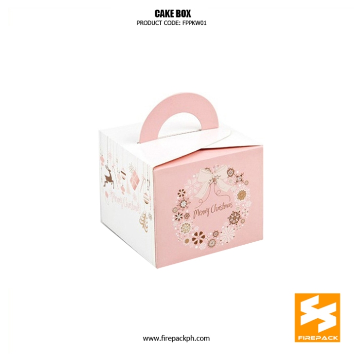 cake box with handle supplier manila firepak