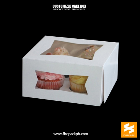 cake box with window maker cebu manila