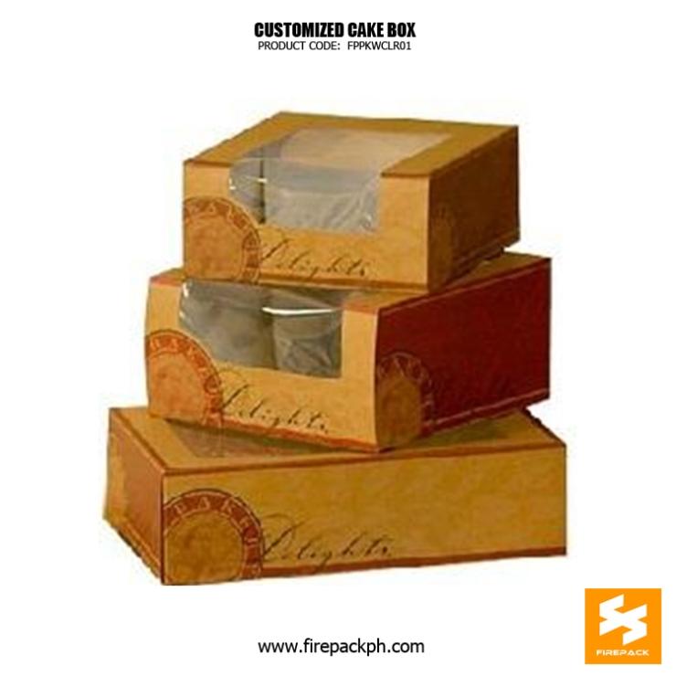 cake box with window maker cebu