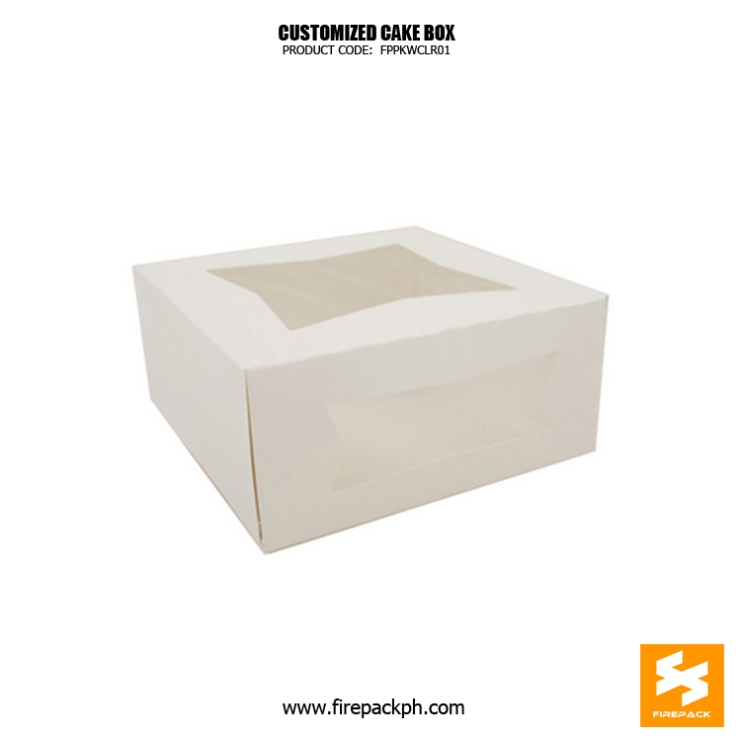cake box with window maker supplier manila