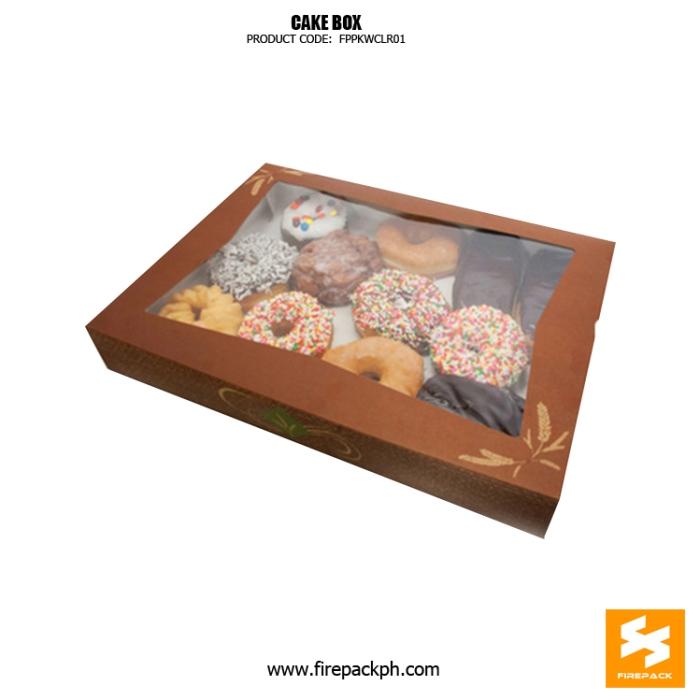 cake box with window supplier cebu