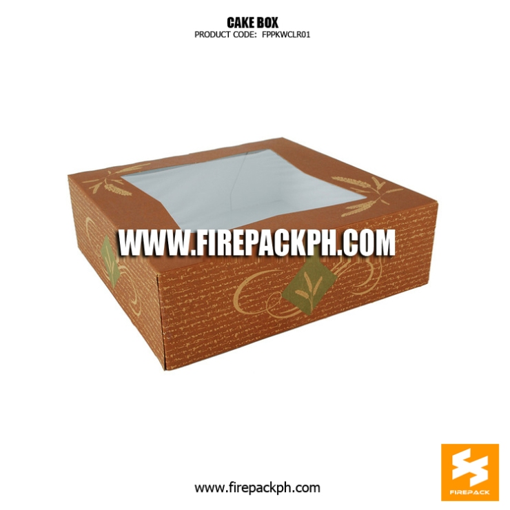 cake box with window supplier manila cebu supplier