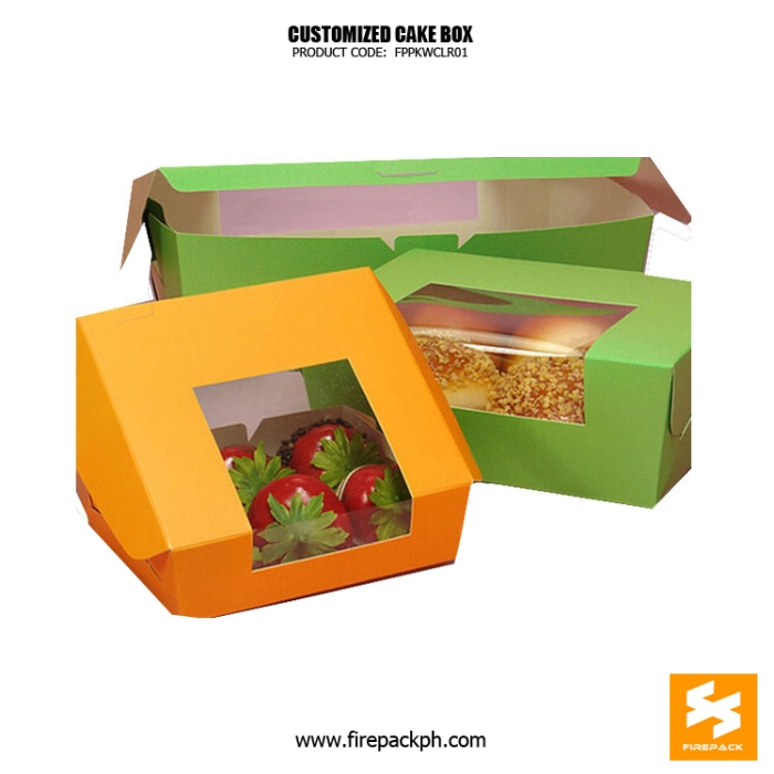 cardboard box for cake supplier