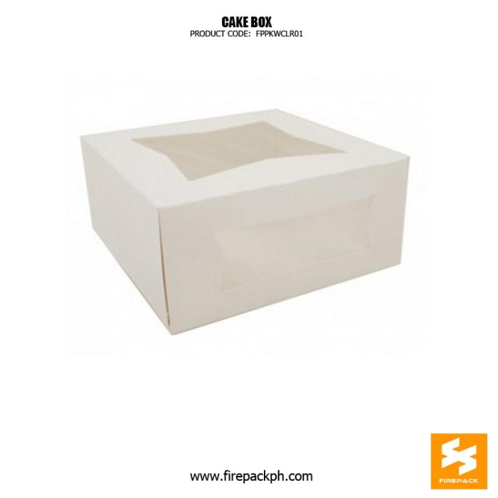 cardboard type cake box make manila