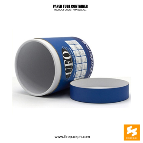 cheap paper tube blue color design supplier dubai