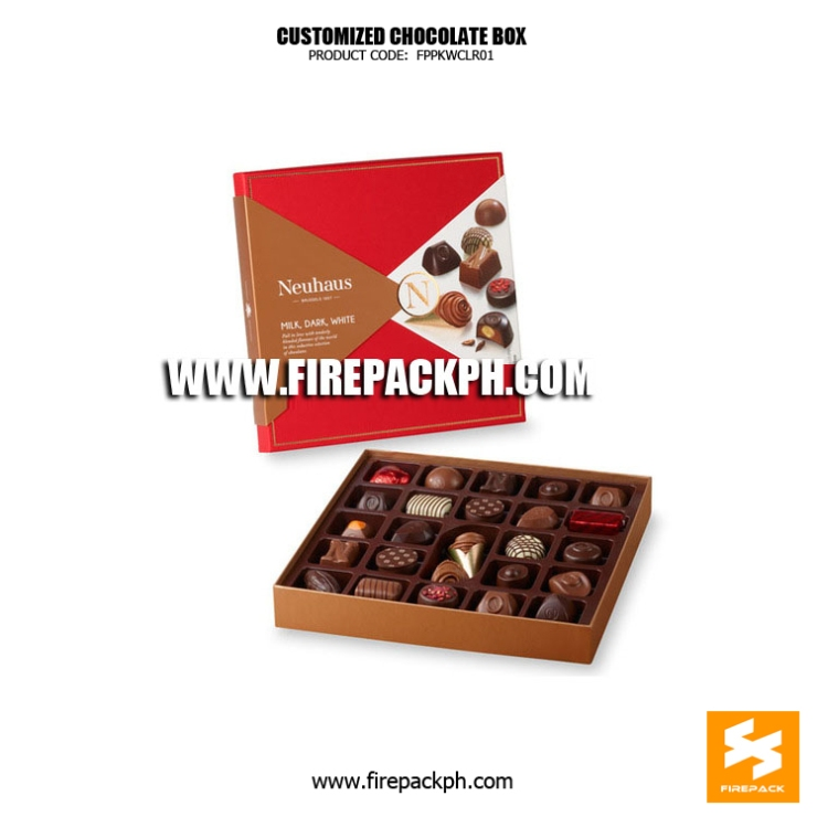 chocolate box maker supplier cebu philppines