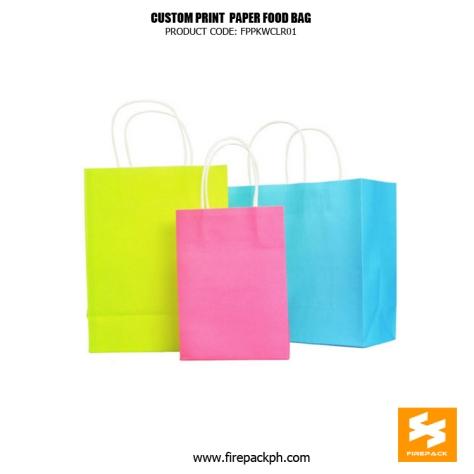 colored paper bag supplier manila