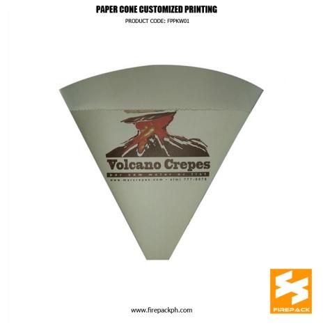 cone container for crepes supplier manila quezon city