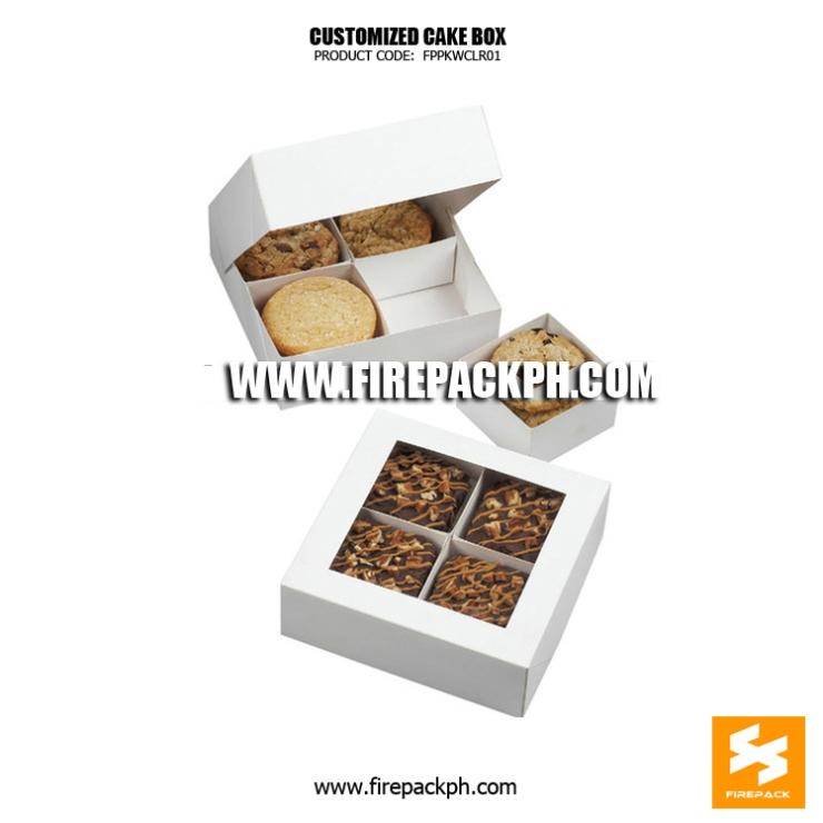 cookie box maker customized manila