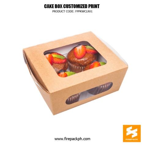 cup cake box supplier firepack manila supplier