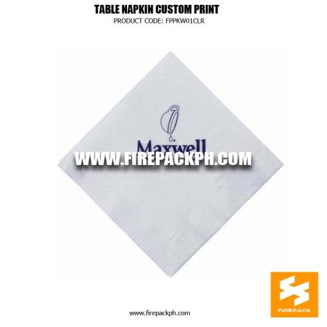 custom print tissue paper tissue maker
